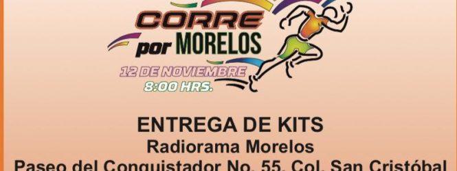 Ya sólo faltan 2 días para la Carrera Radiorama y Corre por Morelos