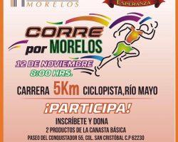 Excelente calentamiento para la Carrera Radiorama y Corre por Morelos!!!!