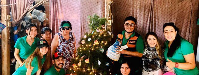 Radiorama Acapulco llevarón la Navidad a casa!